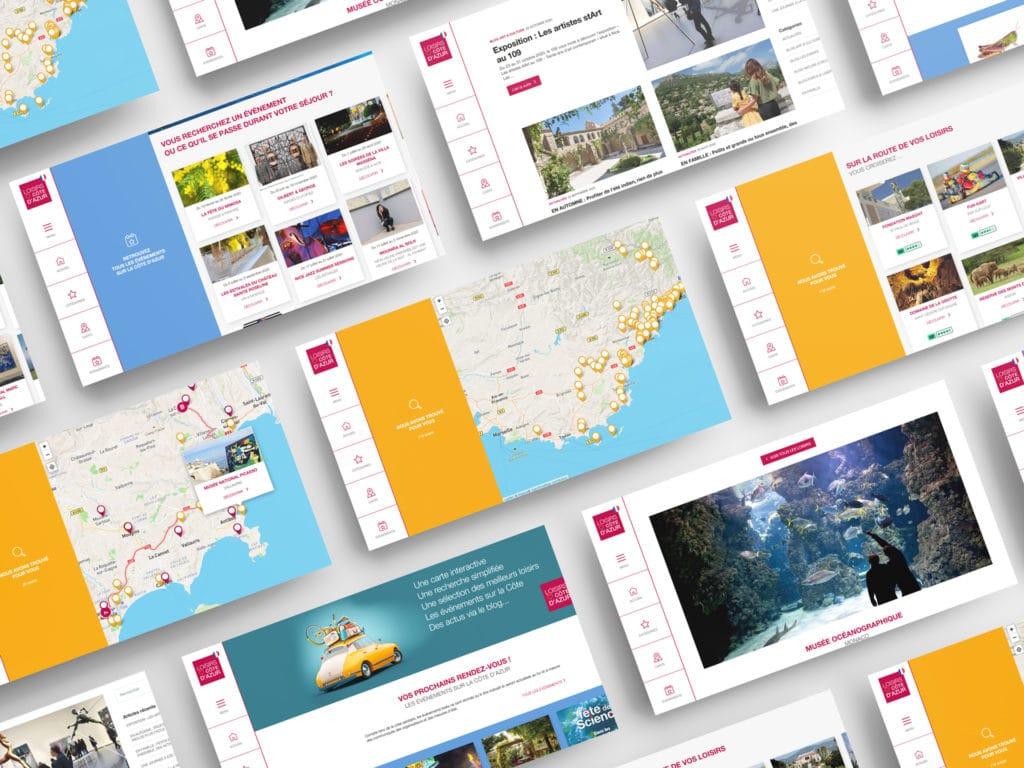 Site Internet-Loisirs Côte d'Azur