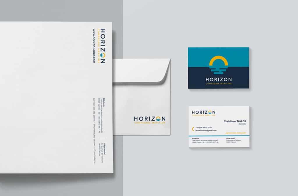 Compagnie Horizon - Identité visuelle