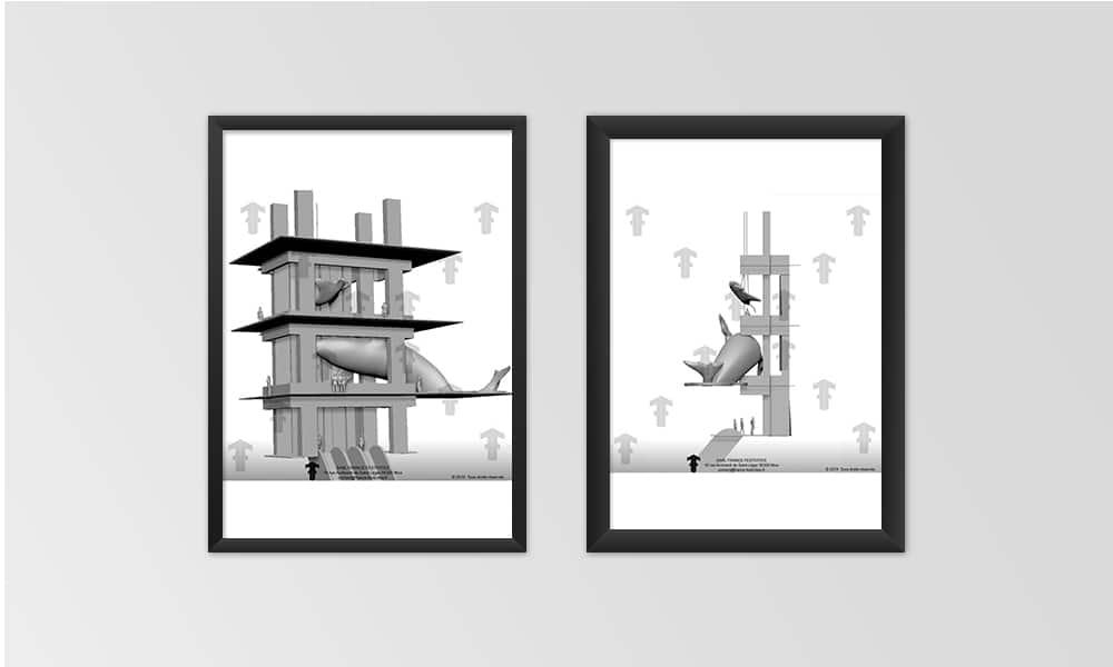 Exposition L'Océanie - Projections 3D