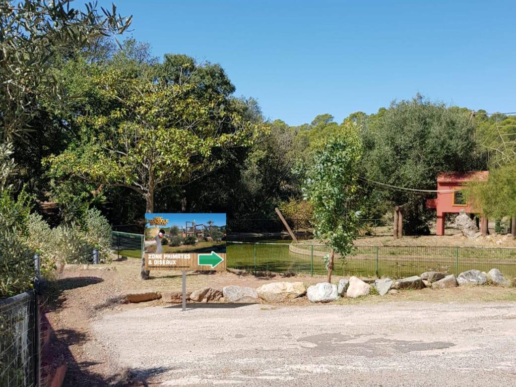 Zoo de Fréjus - Signalétique